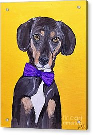 Brady Date With Paint Nov 20th Acrylic Print