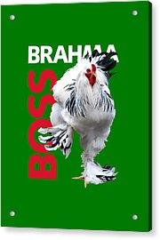 Brahma Boss T-shirt Print Acrylic Print