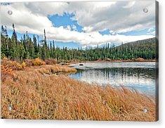 Brainard Lake Colorado Acrylic Print by James Steele