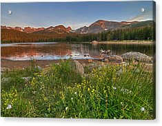 Acrylic Print featuring the photograph Brainard Lake by Gary Lengyel