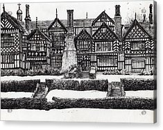 Bramall Hall Acrylic Print by Vincent Alexander Booth