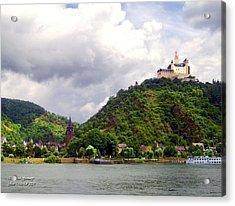 Acrylic Print featuring the photograph Brambach Germany by Joan  Minchak