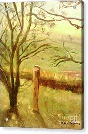 Brampton Valley Way Acrylic Print