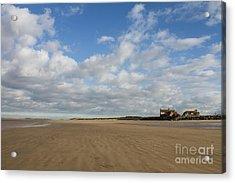 Brancaster Beach Acrylic Print by John Edwards