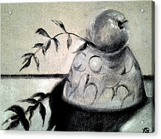Branch Shadow Acrylic Print