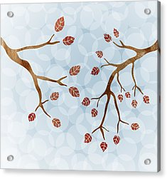 Branches Acrylic Print by Frank Tschakert