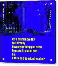 Brand New Day  Acrylic Print