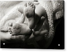 Brand New Toes Acrylic Print