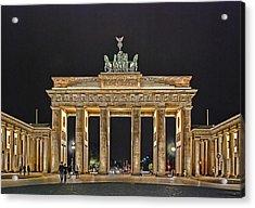 Brandenburg Gate Acrylic Print by Joachim G Pinkawa