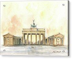 Brandenburger Tor, Berlin Acrylic Print