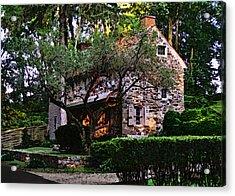 Brandywine Homestead Acrylic Print by Gordon Beck