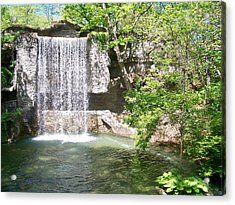 Branson Waterfall Acrylic Print