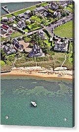 Brant Point House Nantucket Island 2 Acrylic Print by Duncan Pearson
