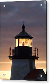 Brant Point Lanthorn - Nantucket Acrylic Print by Henry Krauzyk