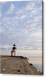 Brant Point Light - Nantucket Acrylic Print by Henry Krauzyk