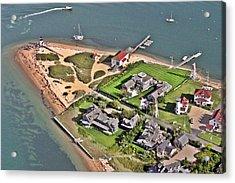 Brant Point Light House Nantucket Island 2 Acrylic Print by Duncan Pearson