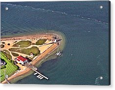 Brant Point Light House Nantucket Island 4 Acrylic Print by Duncan Pearson