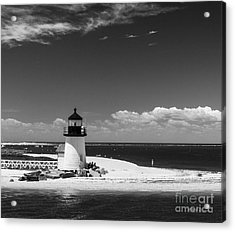 Brant Point Lighthouse Acrylic Print by Michelle Wiarda