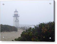Brant Point Mist - Nantucket Acrylic Print