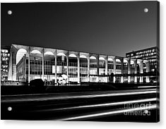 Brasilia - Itamaraty Palace - Black And White Acrylic Print
