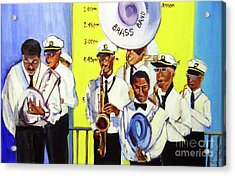 Brass Of  Class New Orleans Acrylic Print