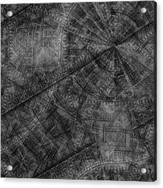 Brass Rubbing A Dream Acrylic Print by Ian Duncan Anderson