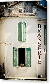 Acrylic Print featuring the photograph Brasserie by Jason Smith