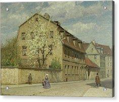 Braune Weimar Acrylic Print by Christoph Martin Weiland