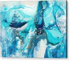 Brave Depths Acrylic Print