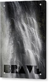 Acrylic Print featuring the photograph Brave by Jocelyn Friis