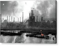 Brave New World 7d10358 V3 Bw Acrylic Print