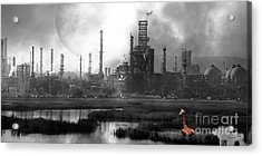 Acrylic Print featuring the photograph Brave New World 7d10358 V3 Long by Wingsdomain Art and Photography
