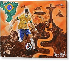 Brazil Acrylic Print