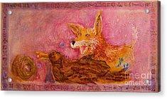 Bre Fox And Bre Crow Acrylic Print