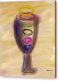 Bread And Wine Acrylic Print