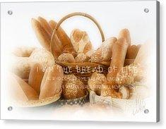 Bread Arrangement #2 - With Scripture Acrylic Print