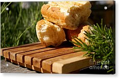 Acrylic Print featuring the photograph Bread I by Louise Fahy