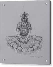 Bread Of The Heart Acrylic Print by Bruce Zboray