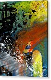 Break Free Acrylic Print by Aramis Hamer