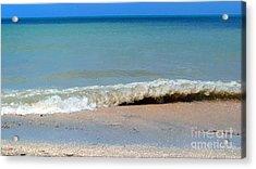 Break In The Sand Acrylic Print