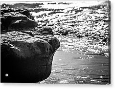 Break In The Surf Acrylic Print
