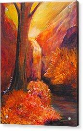 Break Of Dawn Acrylic Print by Amy Stewart Hale