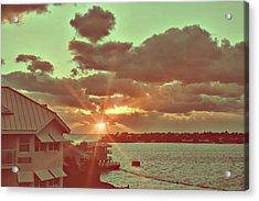 Island Break Of Day Acrylic Print by JAMART Photography