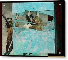 Break The Sky Acrylic Print by Adam Kissel