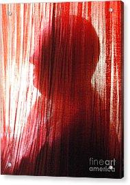 Break Through 04 - Other Side Profile Acrylic Print by Sean-Michael Gettys