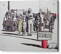 Breakdance San Francisco Acrylic Print