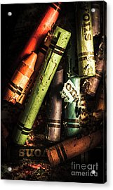 Breakdown Of Color Acrylic Print by Jorgo Photography - Wall Art Gallery
