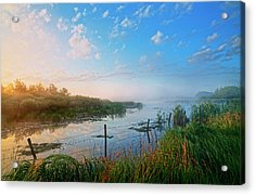 Breakers Pond Acrylic Print