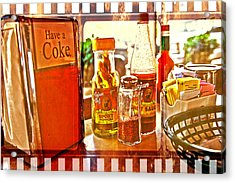 Breakfast At Paul's Acrylic Print