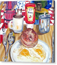 Breakfast At The Deli Acrylic Print